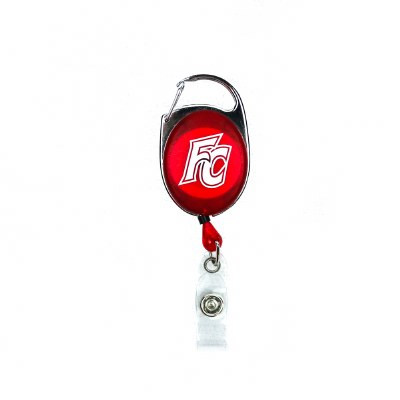 Retractable Reel Florida College Lanyard