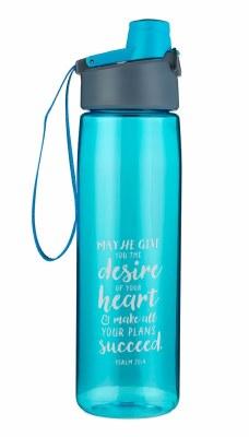 Water Bottle - Plastic, Desire of your Heart