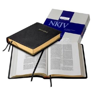 NKJV Wide Margin Reference Bible