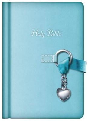 NKJV Simply Charming Bible - Blue
