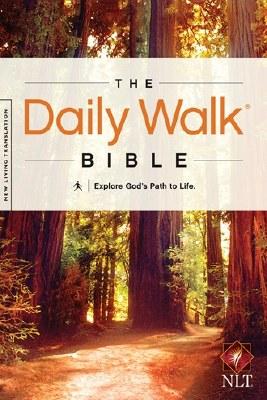 NLT Daily Walk Bible: Explore God's Path to Life