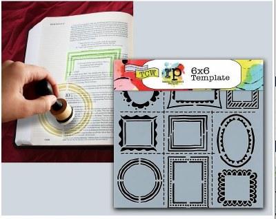 Bible Journaling Stencils Frames