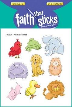 Animal Friends: Faith That Sticks