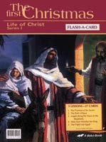 Abeka Flash-a-Cards: The First Christmas (Series 1)
