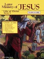 Abeka Flash-a-Cards: Later Ministries of Jesus (Series 4) Digital