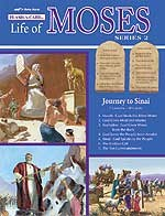 Abeka Flash-a-Cards: The Life of Moses (Series 2): Journey to Sinai