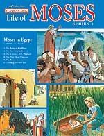 Abeka Flash-a-Cards: The Life of Moses (Series 1): Moses in Egypt