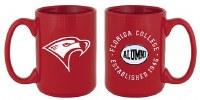 Red Florida College Alumni Mug