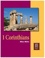1 Corinthians: The Bible Text Book Series