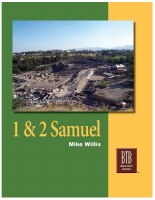 1 & 2 Samuel: The Bible Text Book Series
