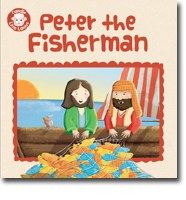 Candle Little Lambs - Peter the Fisherman