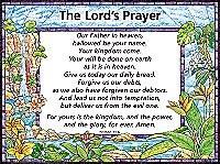 CHARTS-LORDS PRAYER KJV #509L