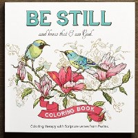 Coloring Book - Be Still and Know that I am God