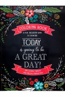 Coloring Book Today is Going to be a Great Day
