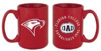 Red Florida College Dad Mug