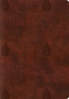 ESV Journaling Bible - Chestnut TruTone