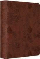 ESV Journaling Bible Brown Leaves Single Column