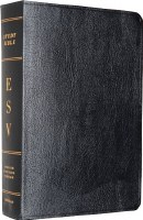 ESV Study Bible- Black Genuine Leather