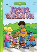 Happy Day- Jesus Teaches Me Coloring Book