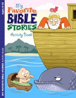 By Favorite Bible Stories Coloring & Activity Book