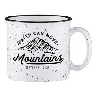 Mug - Faith Can Move Mountains