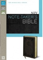 NIV Note-Takers Bible- DuoTone Brown