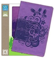 NIV Backpack Bible - Purple