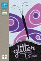 NIV Glitter Bible- Butterfly