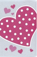 NIV Glitter Bible- Pink Heart (Boxed)