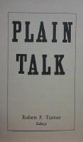 Plain Talk #5