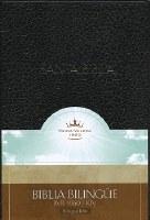 Spanish Bible KJV Biblia Bilingual- Black