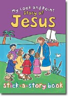 My Look and Point Story of Jesus Sticker Book