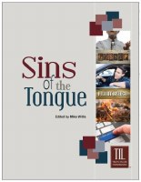 Sins of the Tongue (Truth in Life)