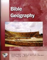 Word in the Heart: Senior High 11:4 Bible Geography
