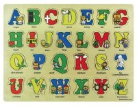 Wooden Puzzle - Bible ABC's