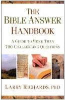 BIBLE ANSWER HANDBOOK