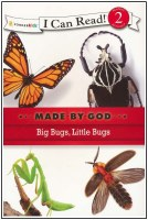 Big Bugs, Little Bugs - I Can Read! Level 2