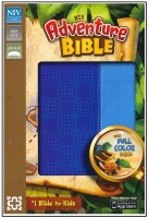 NIV Adventure Bible - Blue DuoTone