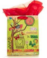 Gift Bag, Bird -Cherished