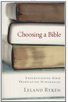 Choosing a Bible