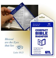 MAGNIFIER, COMPACT BIBLE