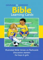Courage & Comfort Cards: Children's Bible Learning Cards