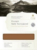 CSB New Testament with Psalms & Proverbs, Brown Leather