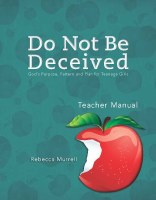 DO NOT BE DECEIVED TM