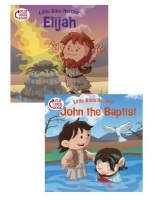 Elijah/John the Baptist Flip Over Book