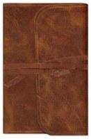 ESV Thinline Bible - Brown Cowhide