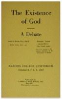 Existence of God Debate