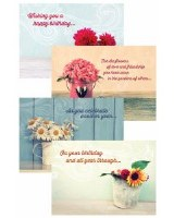 CARD BOXED, BIRTHDAY