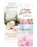 CARD BOXED, ANNIVERSARY