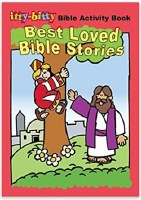 Itty-Bitty Bible Activity Book - Best Loved Bible Stories